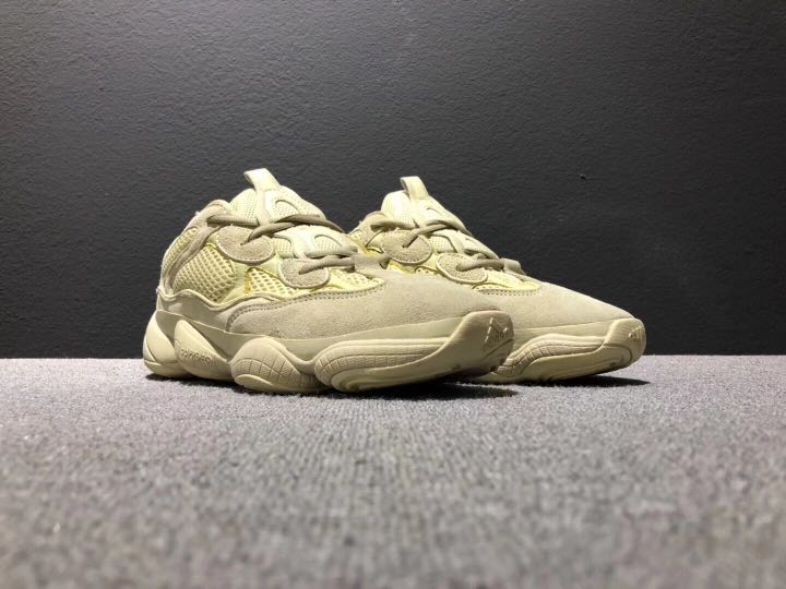 "new products 16721 2e56d Adidas Yeezy 500 Desert Rat ""Super Moon Yellow"""