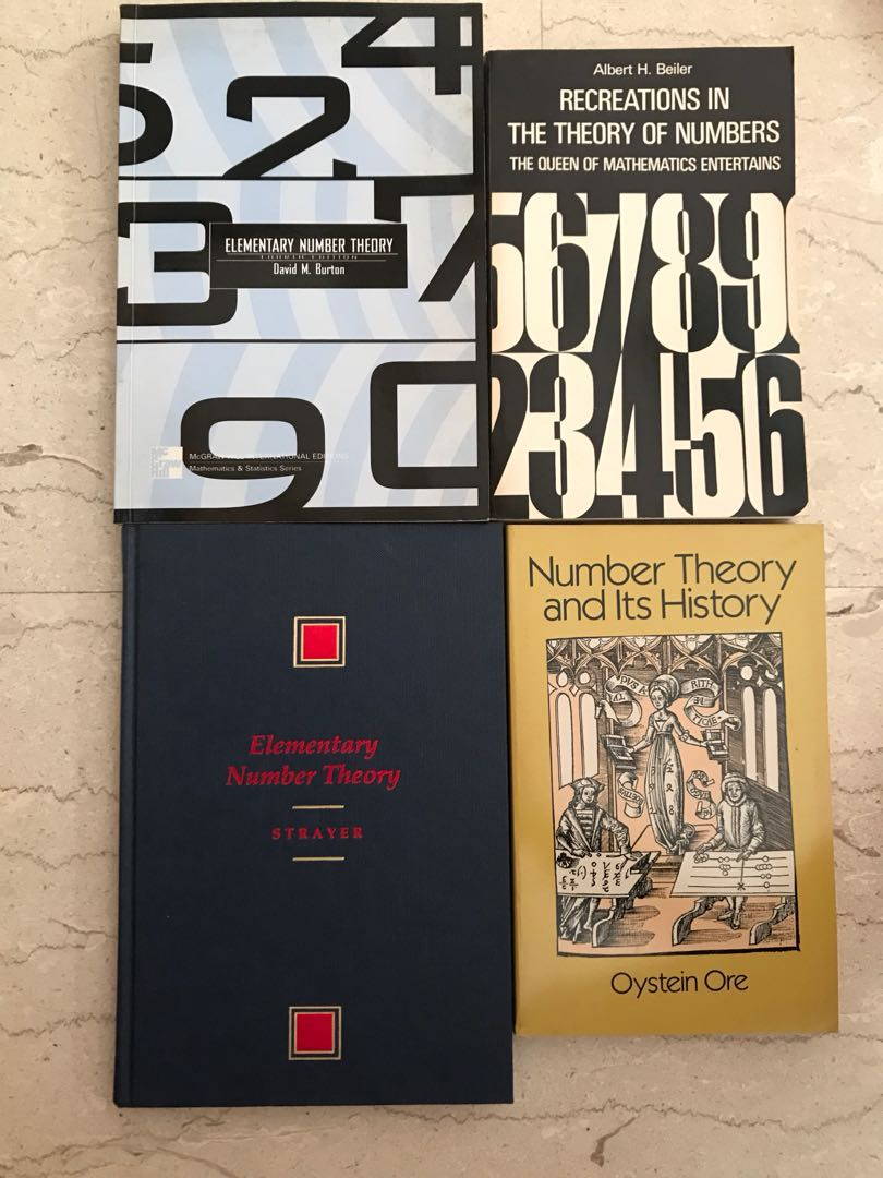 (Advanced Mathematics Books) Renowned Number Theory Texts!