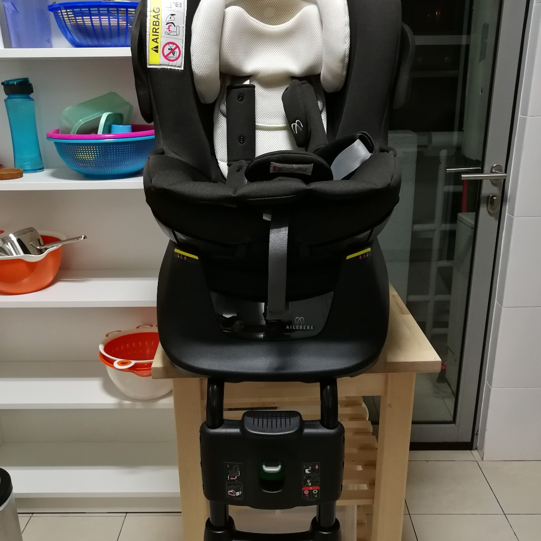 AILEBEBE KURUTTO NT2 SWIVEL BABY AND CHILD CARSEAT Babies Kids Prams Strollers On Carousell