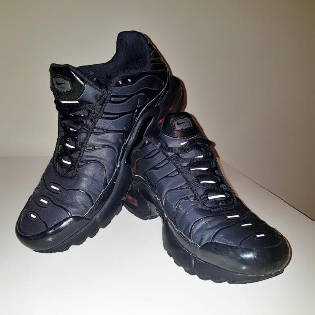 promo code a122b 47e68 All black air max tuned NIKE TNs, Women's Fashion, Shoes on ...