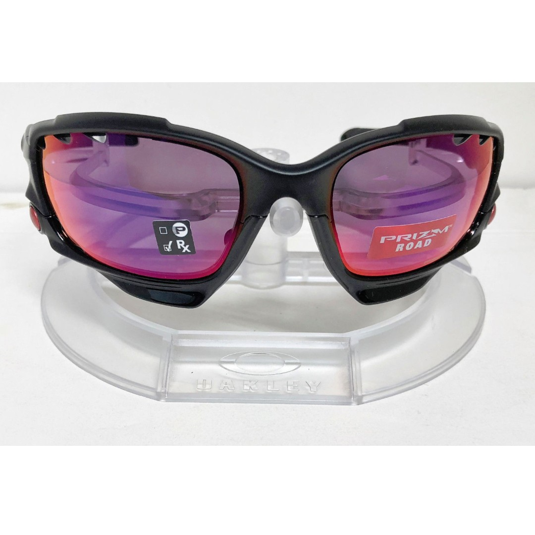 bc9e15b7e1737 Authentic Brand New in Box Oakley OO9171-3762 RACING JACKET MATTE ...