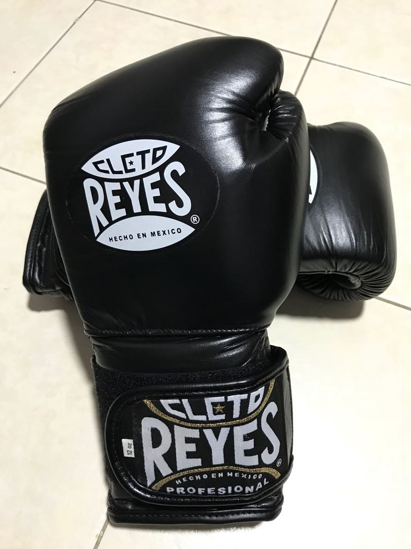 Authentic Reyes boxing gloves