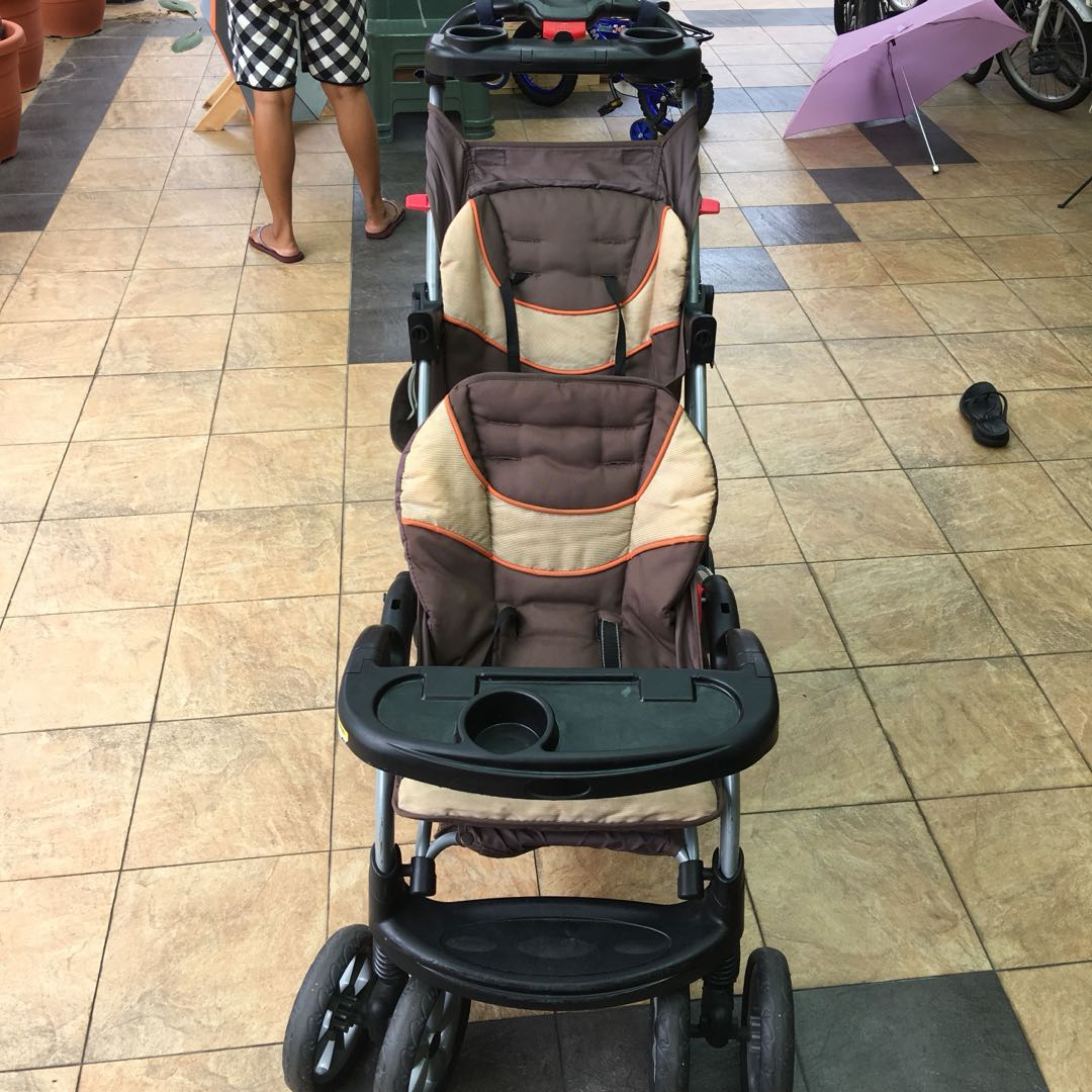 Baby Trend Sit And Stand Double Stroller Babies Kids Strollers