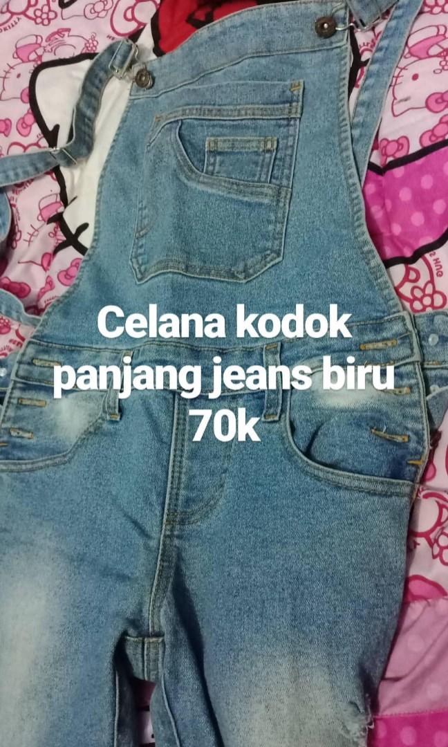 Baju Kodok Levis Panjang Sobek Bydisshop Women S Fashion Women S
