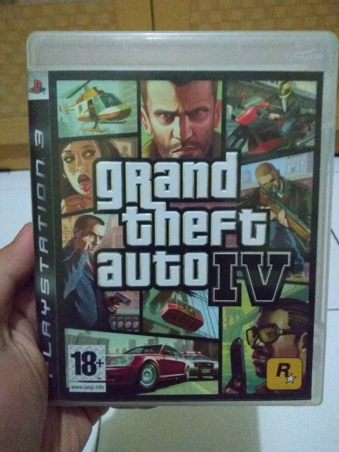 Bluray Disc Gta Iv Ps3 Video Game Di Carousell Kaset Ps4 Bd The Witcher 3 Wild Hunt Of Year