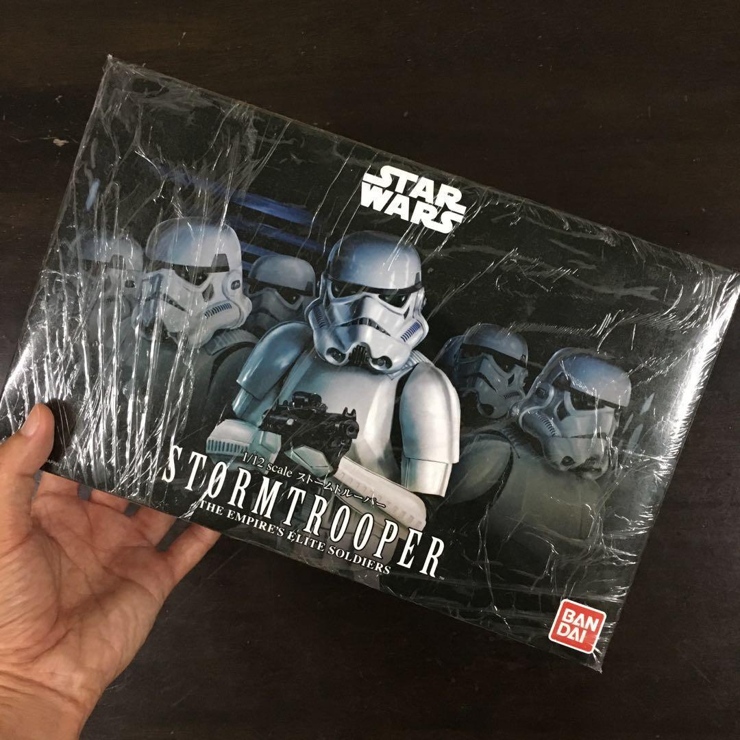 Star Wars Stormtrooper 1:12 Bandai 194379 neu 2018