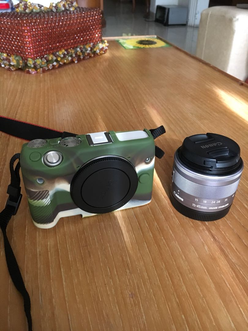 Canon Eos M3 Mulus Masi Garansi Fotografi Di Carousell M10 Kit 1 15 45mm F 35 63 Is Stm Datascrip White