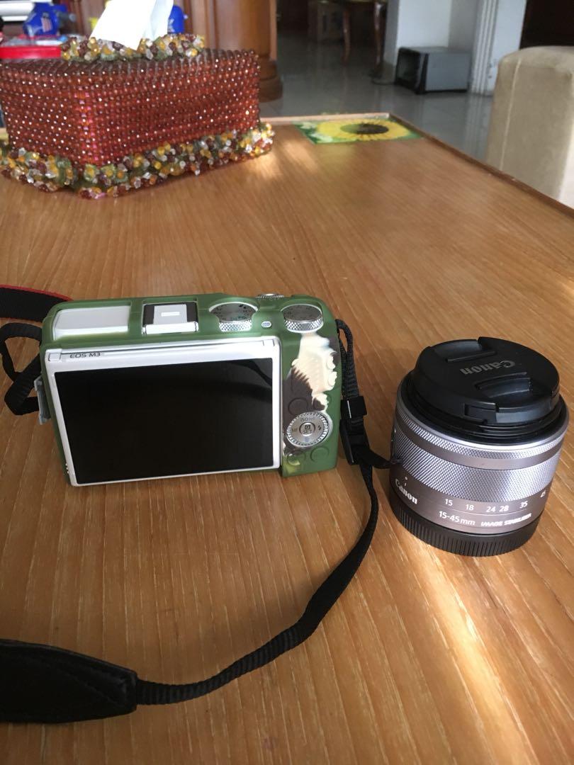 Canon Eos M3 Mulus Masi Garansi Fotografi Di Carousell M10 Kit 1 15 45mm F 35 63 Is Stm Datascrip White Photo