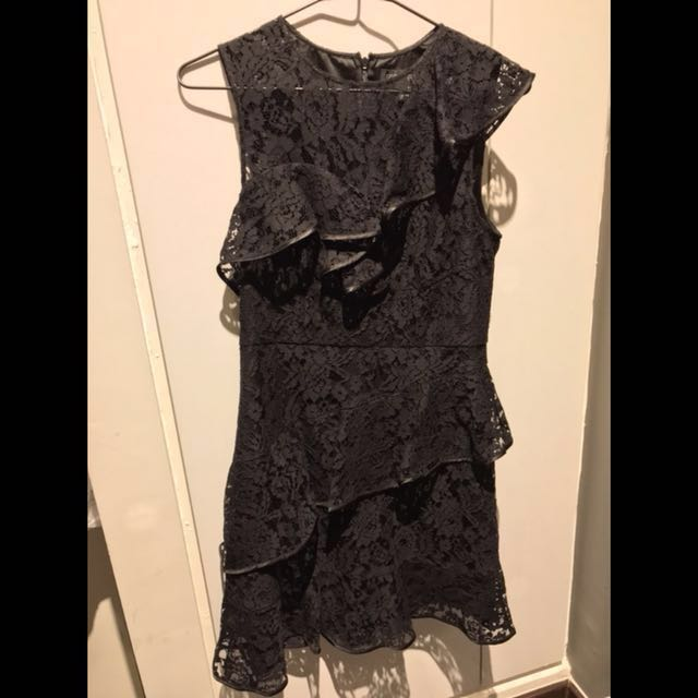 f5ed83ef5ac Forever New Black Lace Dress (Brand-New)
