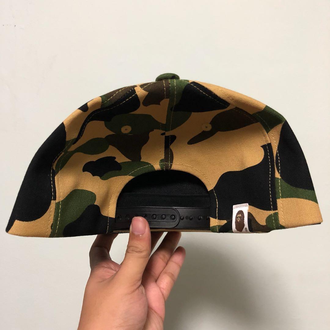 d587af938e0 (FREE DELIVERY) Bape First Camo Snapback