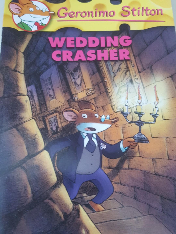 Geronimo Stilton Wedding Crasher Books Stationery Children S On Carou