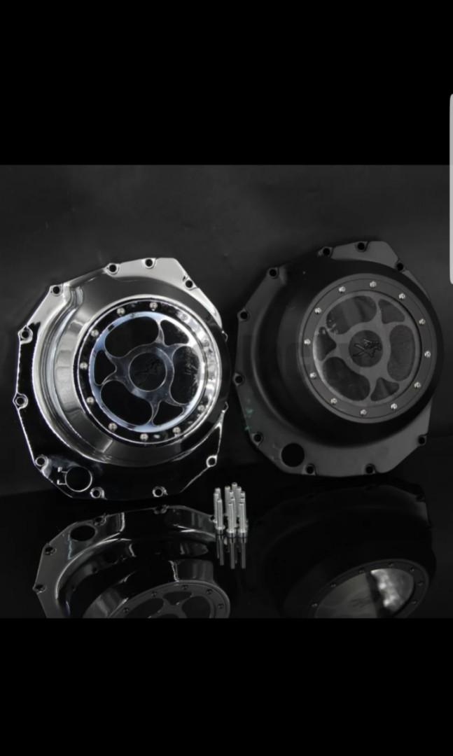 Hayabusa See Through Engine Stator Cover, Motorbikes
