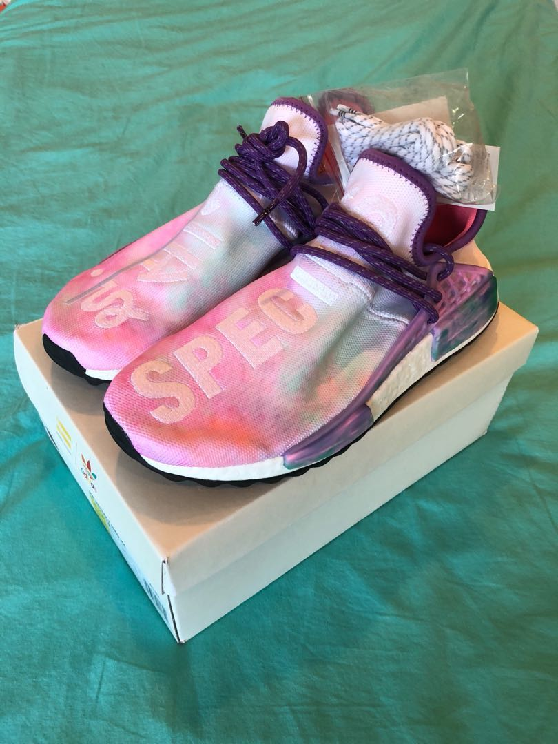 newest a759c 4f054 Human race nmd pink glow