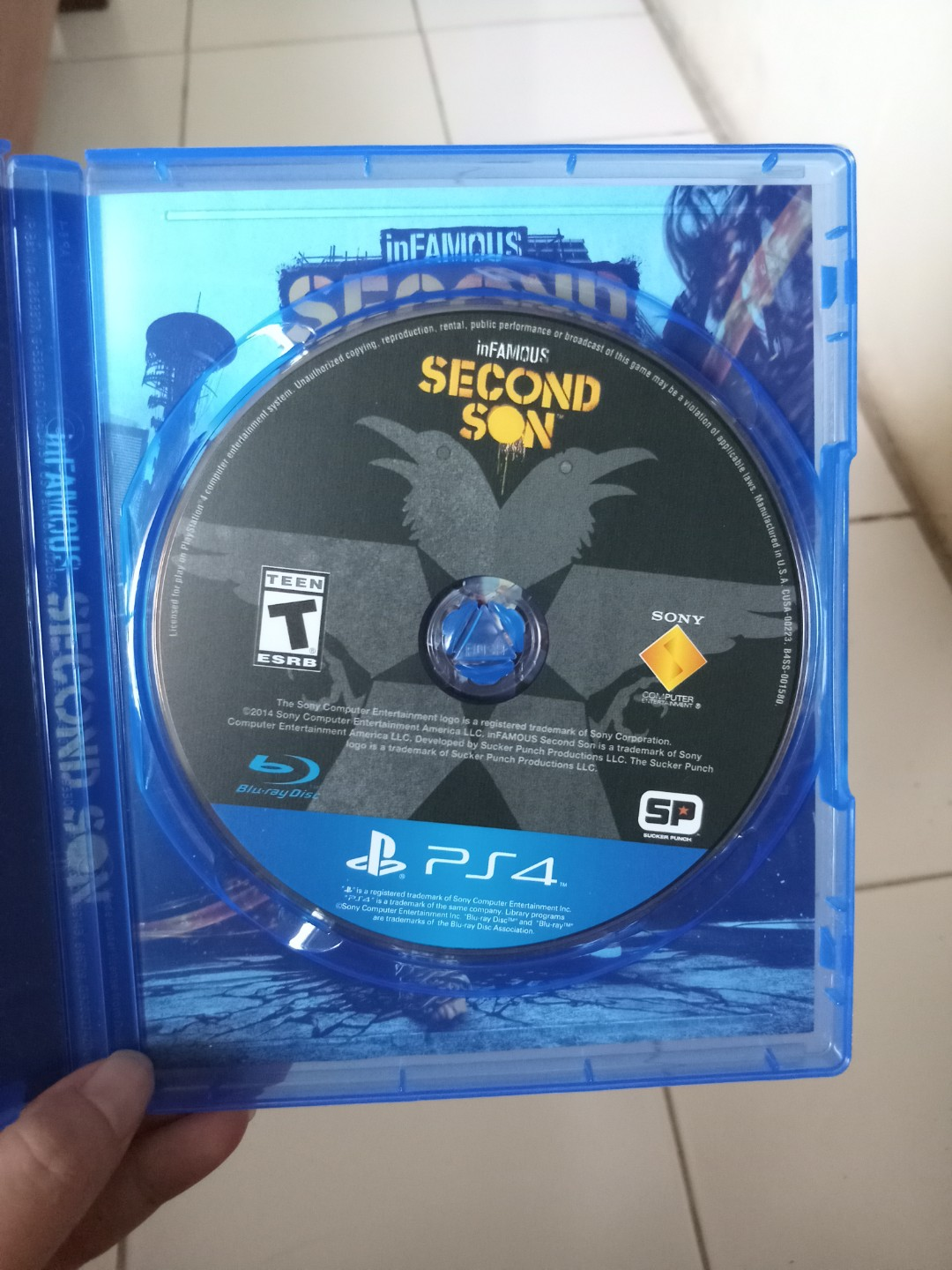 Kaset Game Ps 4 Second Son Video Di Carousell Ps4 Bd Infamous