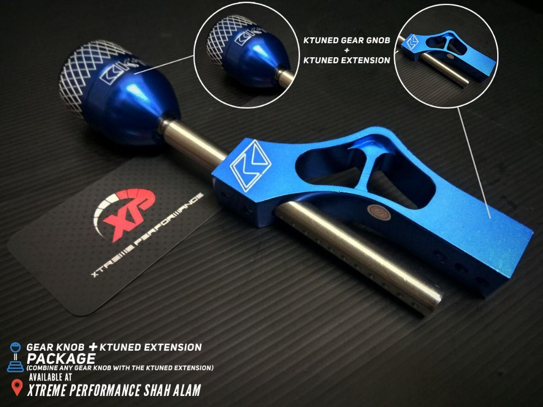 KTUNED GEAR EXTENSION + GEAR KNOB SET
