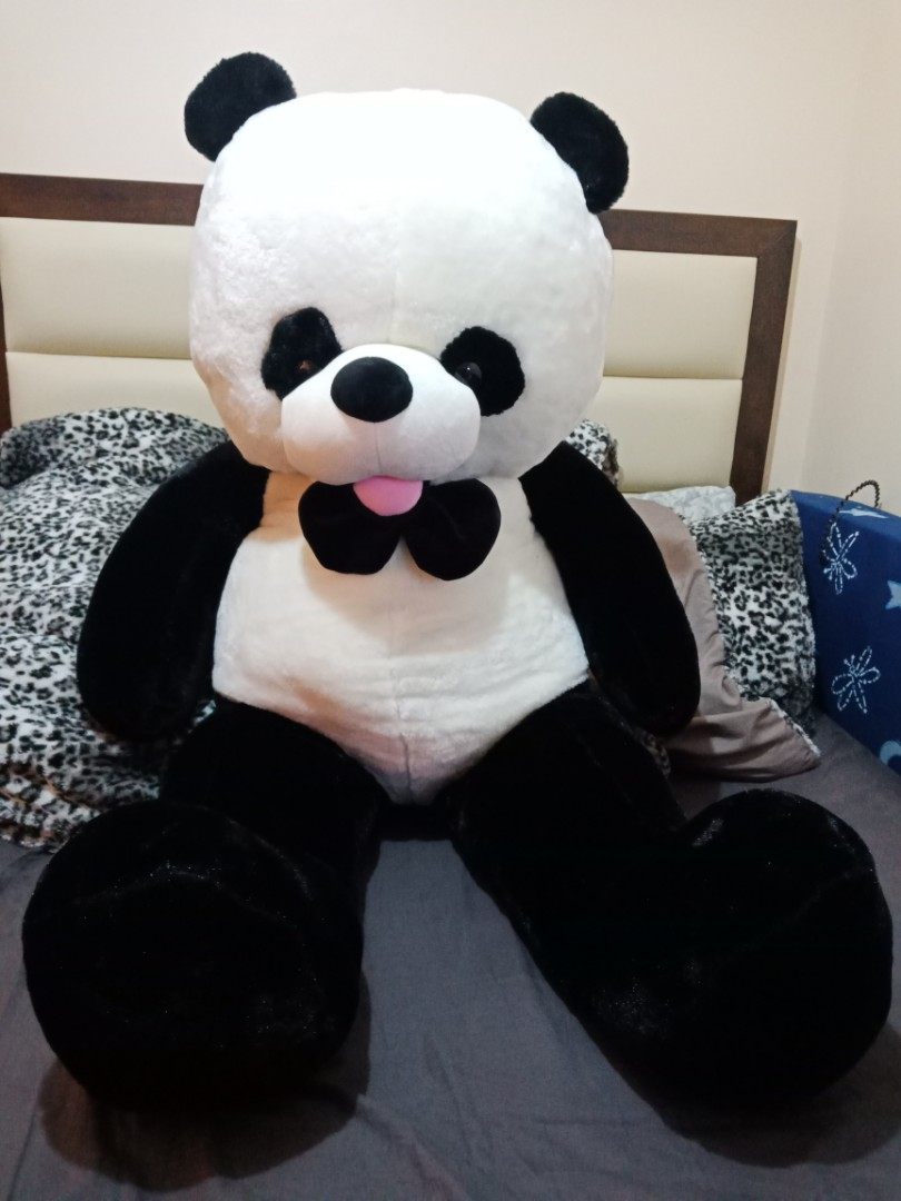 Super Sale Life Size Panda Toys Games Toys On Carousell