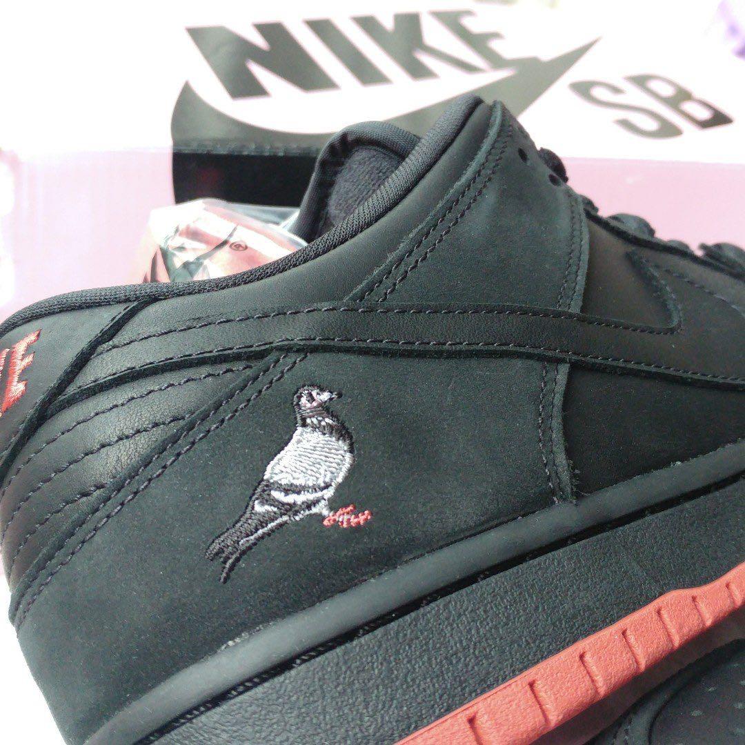 c40c17d2bb7f Limited edition  Nike SB Dunk Low TRD QS Black Pigeon