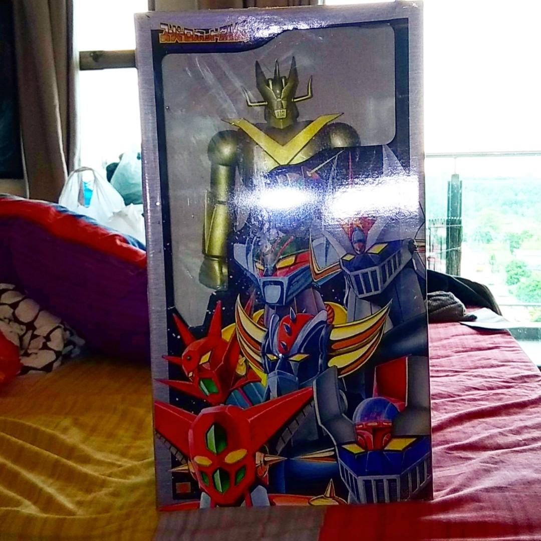 Super Robot Gold Mazinger Z by Marmit, Toys & Games, Bricks