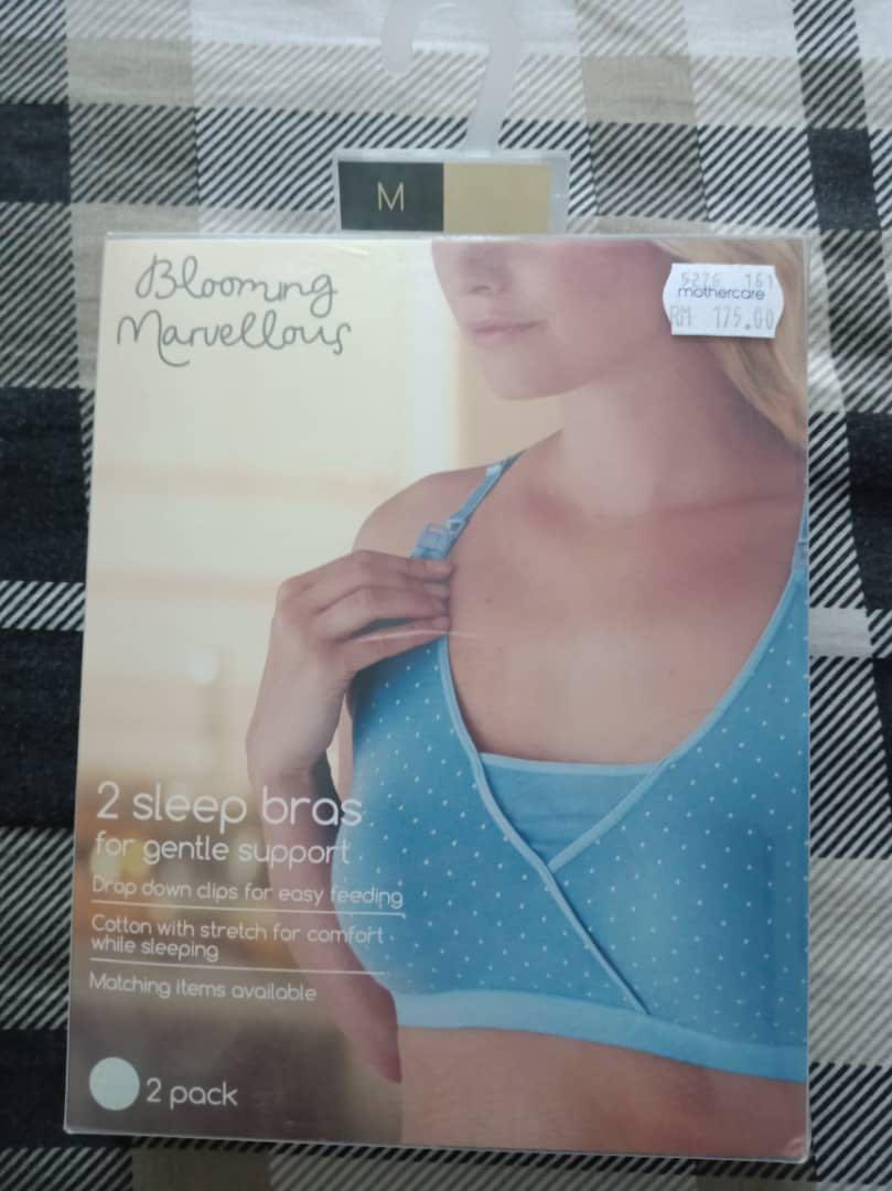 0027b0f51e855 Mothercare Blooming Marvellous Sleep Nursing Bra (2 pack)
