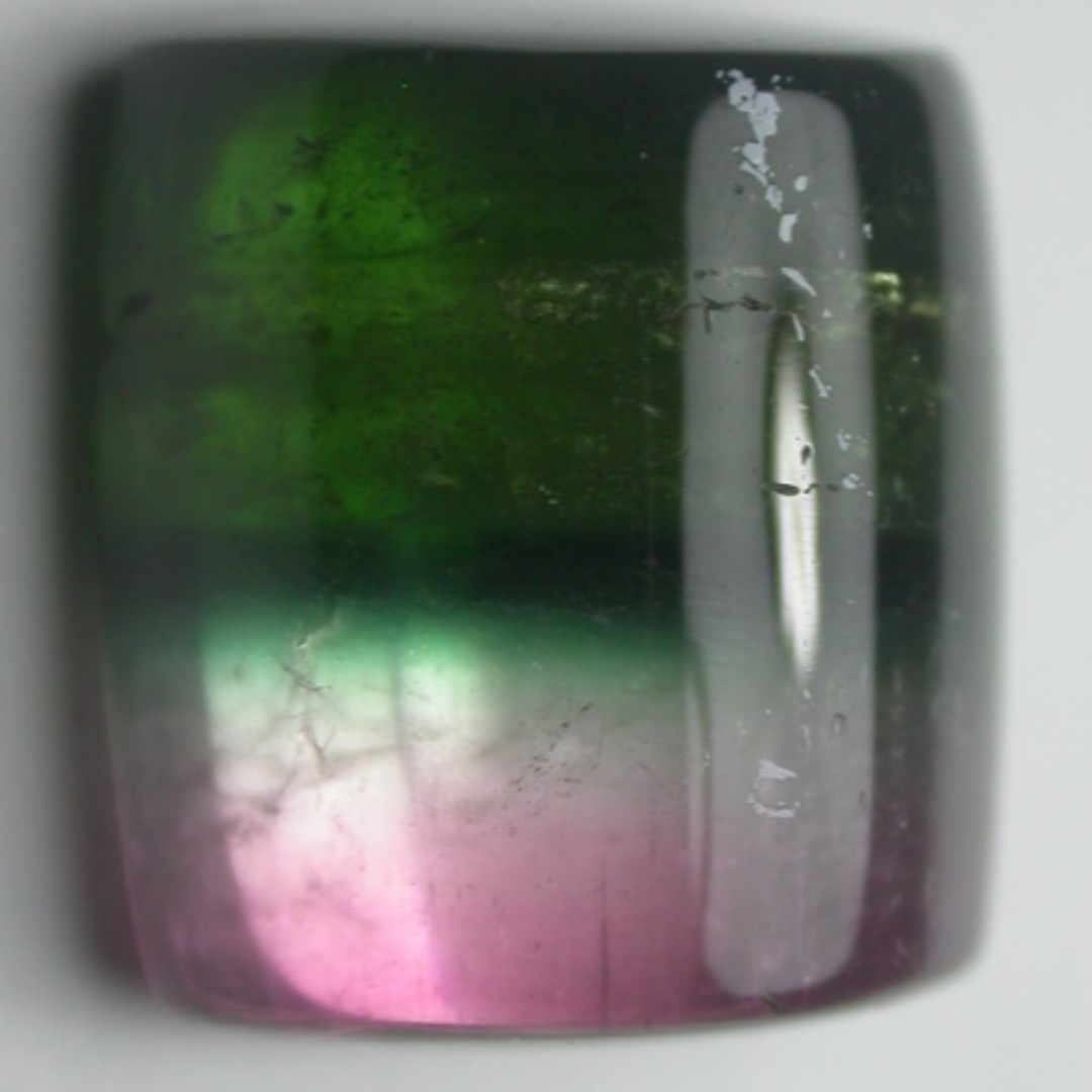 e08b8fd6668f0 Natural Bi Color Tourmaline Cabochon. Good for Collection. Nice for Ring.
