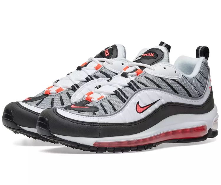 new concept f6fd7 b81c9 Nike Air Max 98 Red Ruby, Men's Fashion, Footwear, Sneakers ...