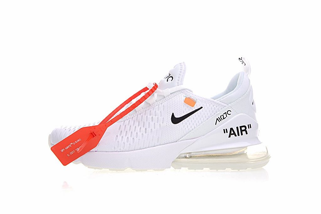 best website 0680c 9f795 Off white x Nike Air Max 270, Men's Fashion, Footwear, Sneakers on ...