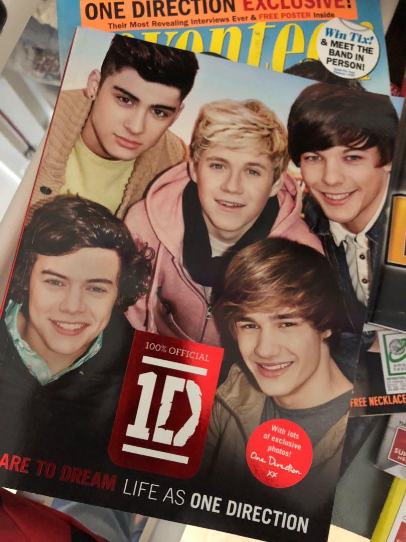 One direction dare to dream book music media cds dvds photo photo photo m4hsunfo