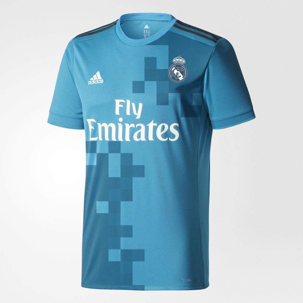 best loved c03e5 dffab Original Real Madrid 2017/18 Third Jersey