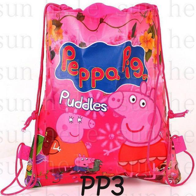 Peppa Pig Drawstring Bag