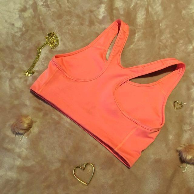 Pink Nike Sports Bra