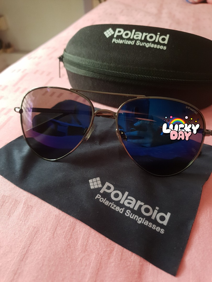 55ddd47c81 Polaroid Polarized Aviator Sunglasses