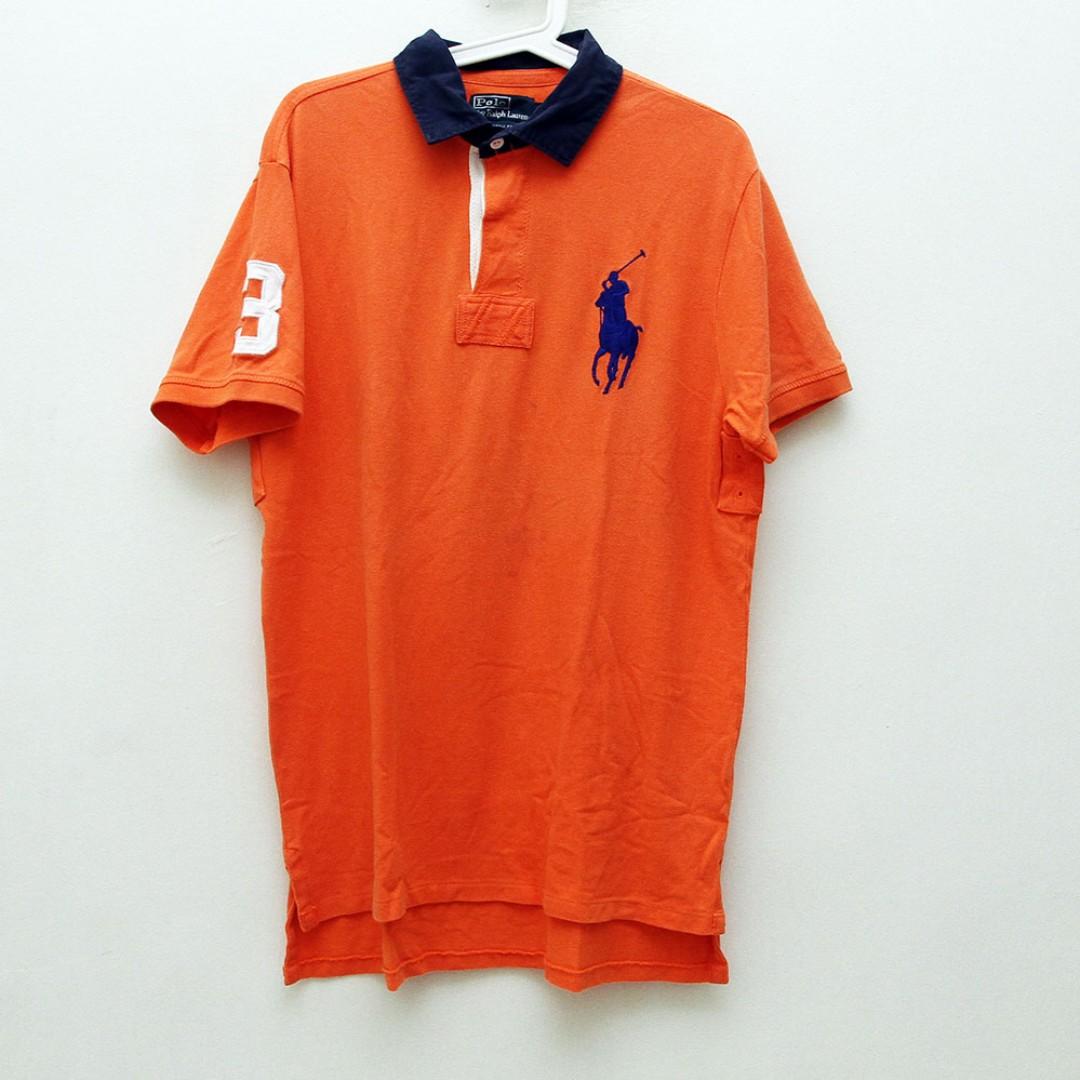 b5d4eb0d Polo Ralph Lauren Mens Custom Fit Big Pony Mesh Polo Shirt, Men's ...