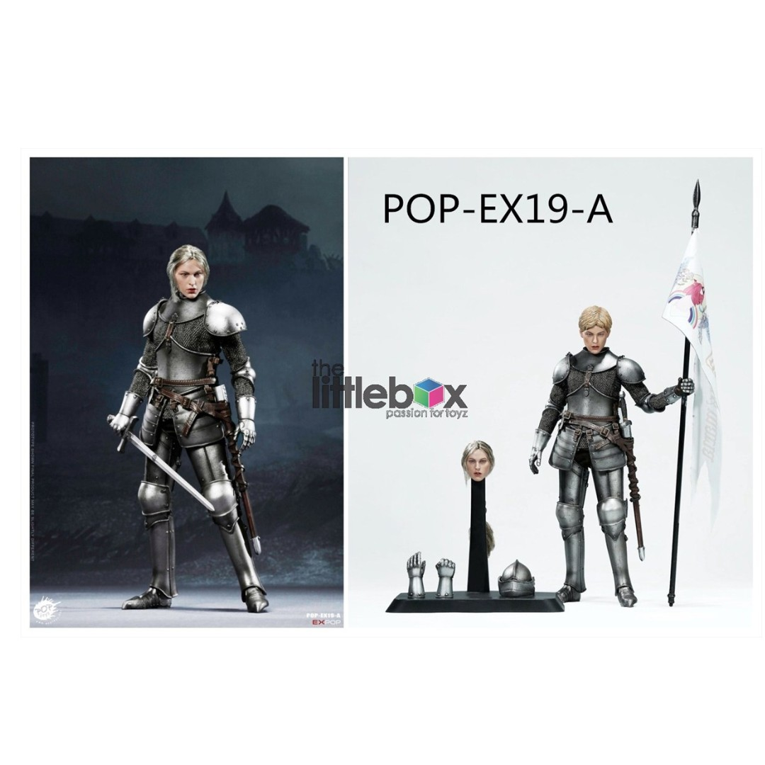 POPTOYS EX019-A 1//6 Saint Knight Charge Version Action Figure Female Body Model