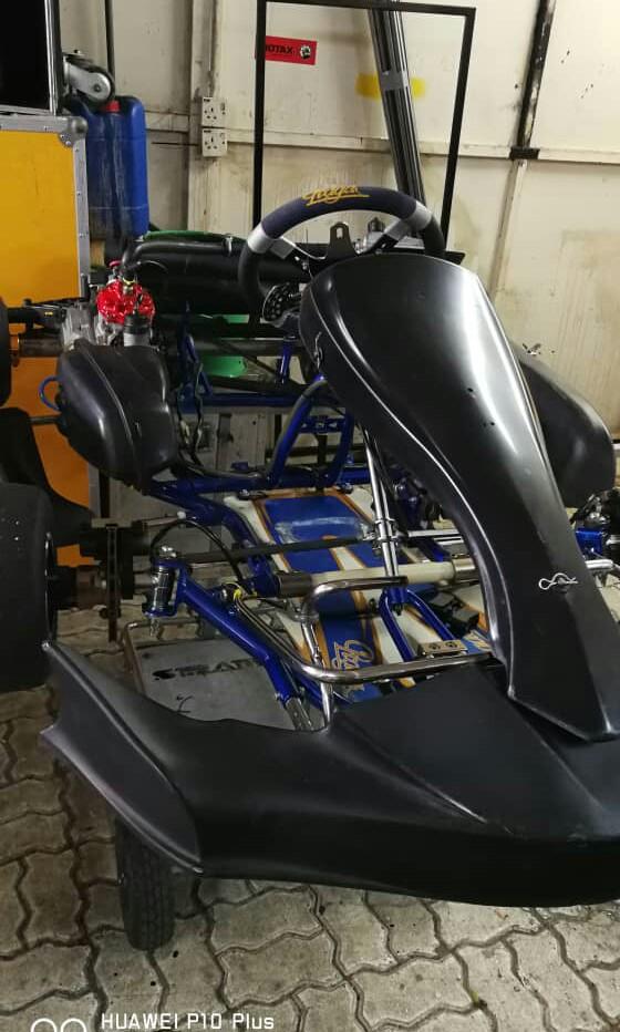 PRAGA Go Kart DD2 Rotax 125cc For Sale