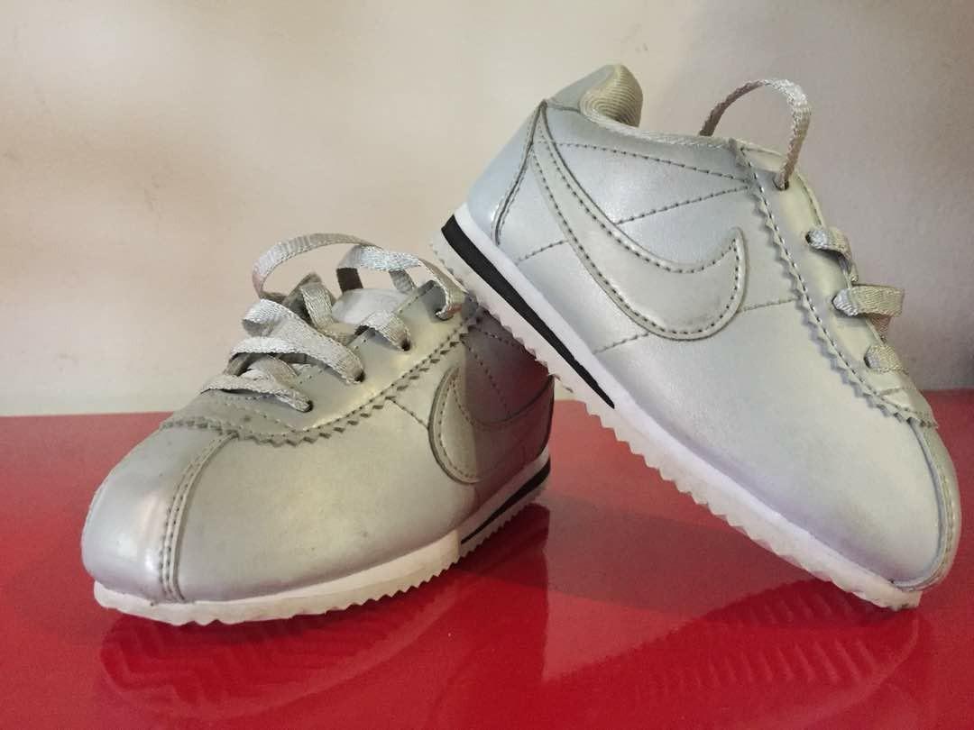 reputable site 8db01 2f4fc Preloved Nike Cortez (original) baby shoe