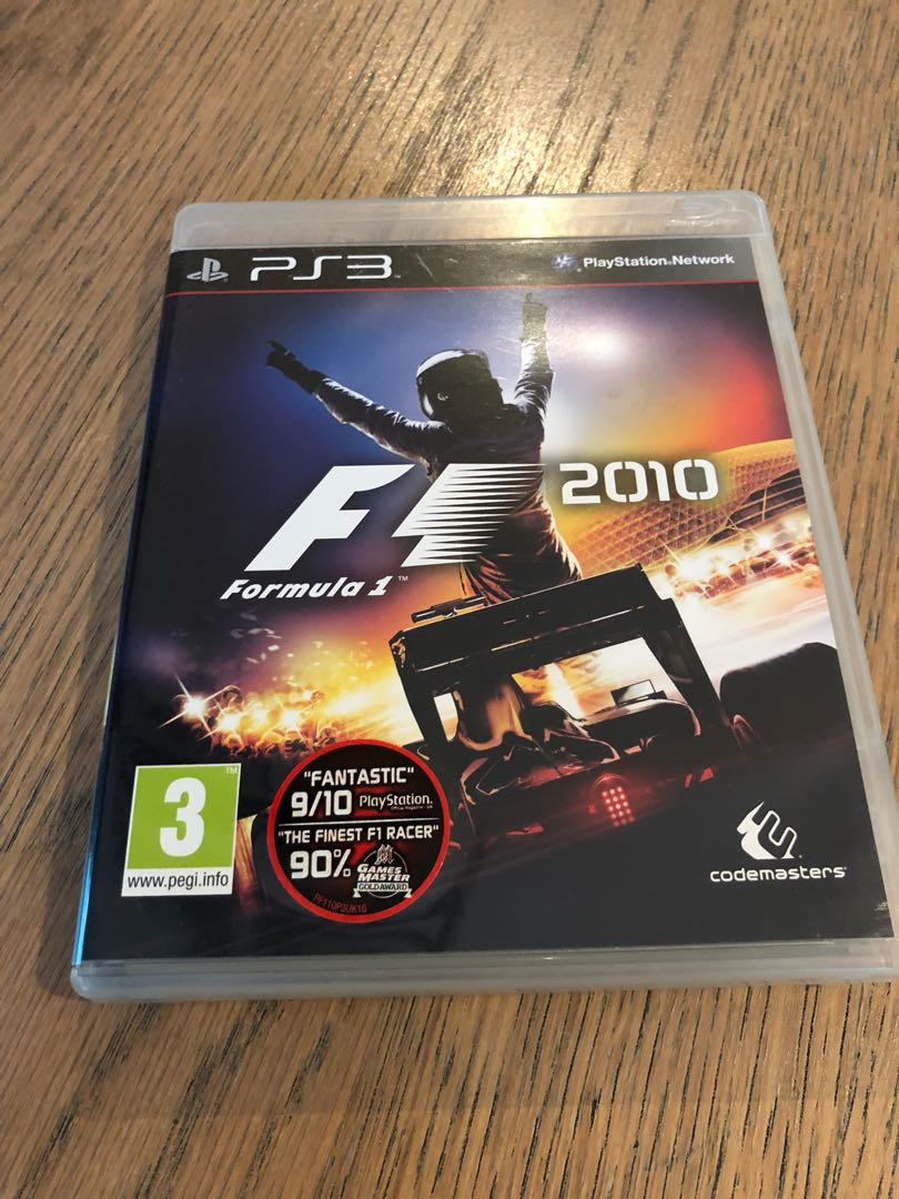PS3 game F1 2010, Toys & Games, Video Gaming, Video Games on