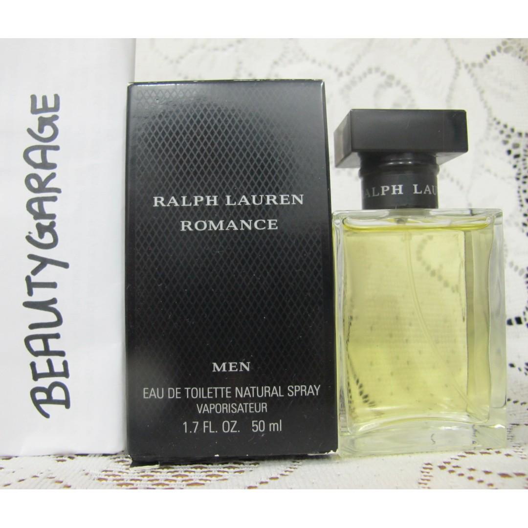 RARE Ralph Lauren Romance Men 50ml 1.7 oz vintage discontinued perfume EDT  SPRAY 57a65646daa0c