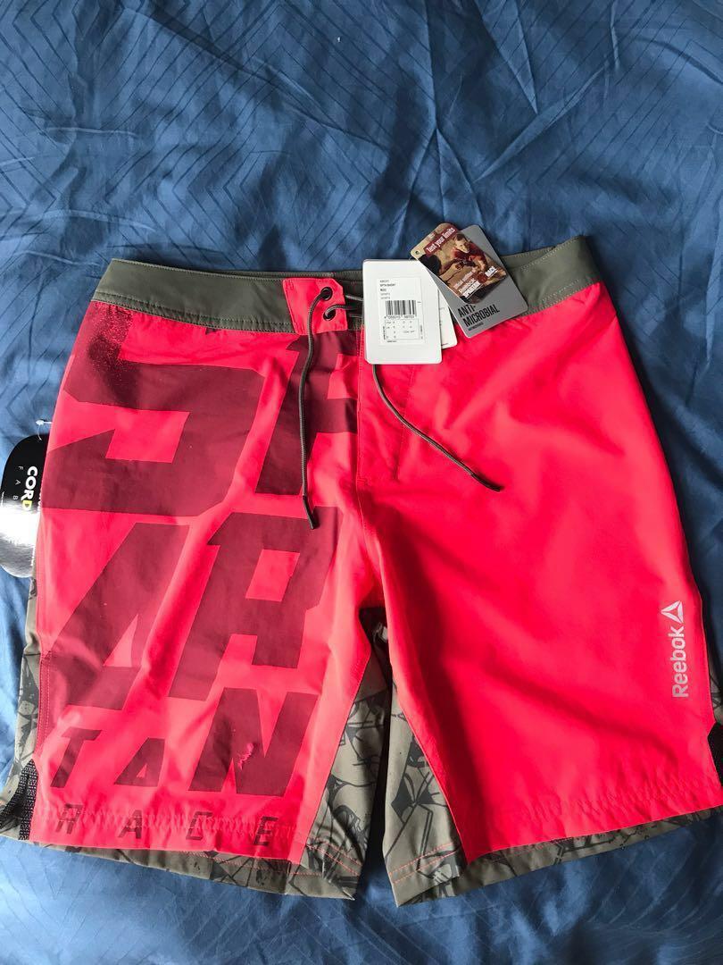 116f1afdc0 Reebok Spartan Race Boardshorts Size S, Men's Fashion, Clothes ...