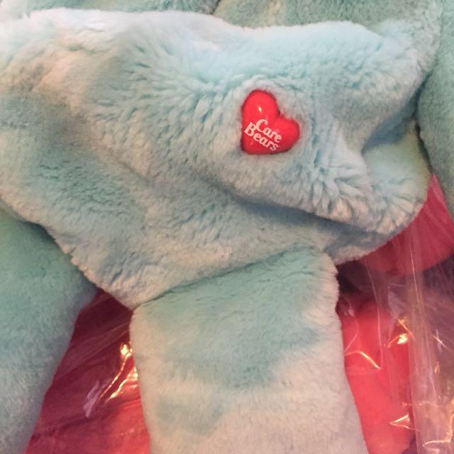 sample sale : Care Bears 45cm 大公仔掛袋 出口日本 愛心熊 Line Brown 熊 7-11 鬆弛熊 Duffy Bear 多買優惠 愛心熊 禮物