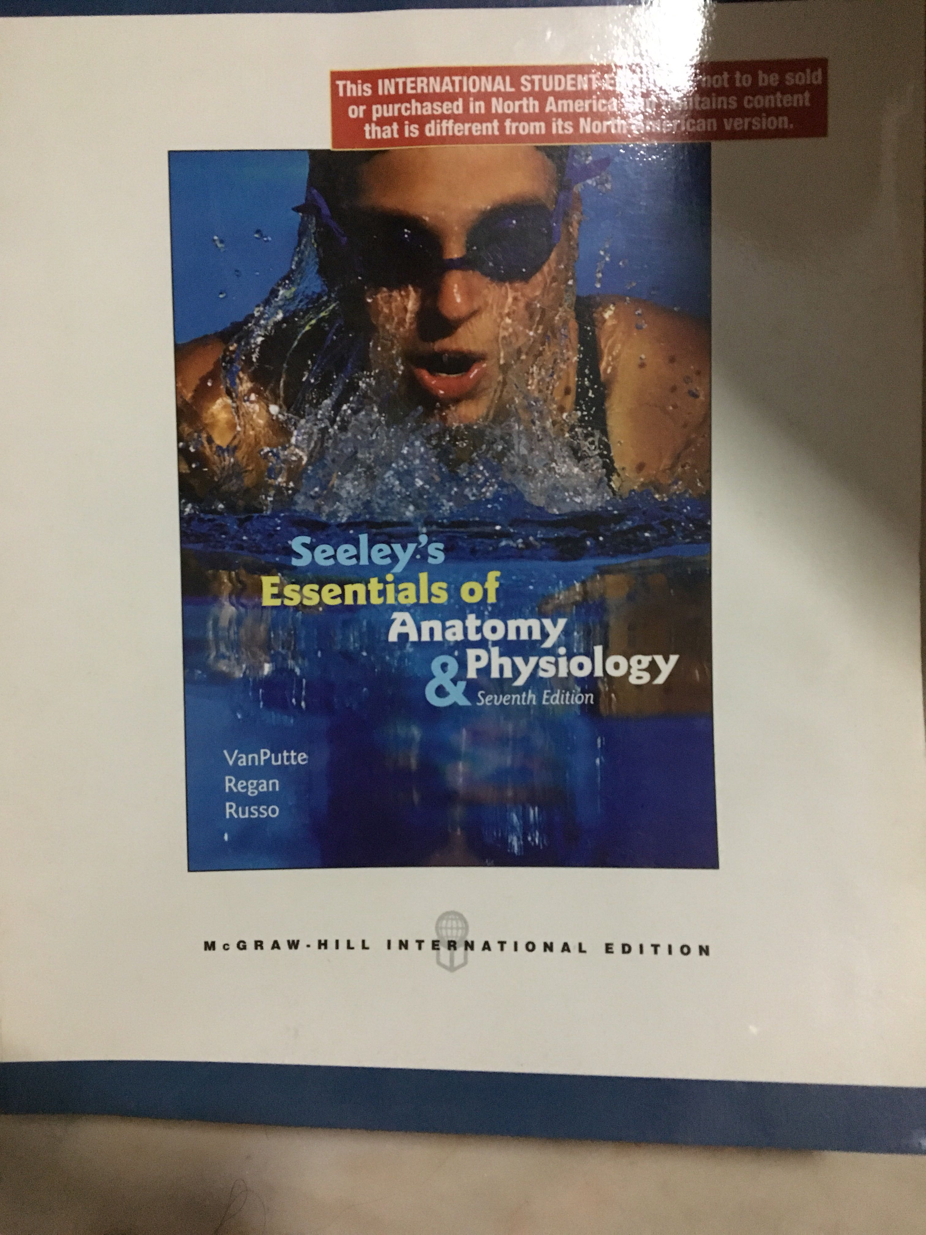 Seeley\'s Essentials of Anatomy and Physiology 7th edition, Books ...