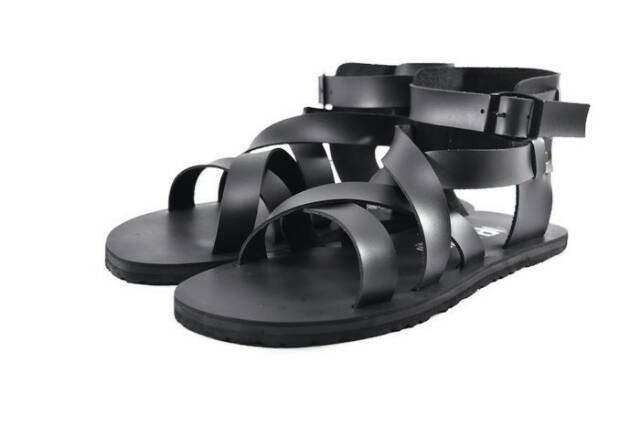 Sendal gladiator morello, Men's Fashion, Men's Footwear, Slippers & Sandals on Carousell