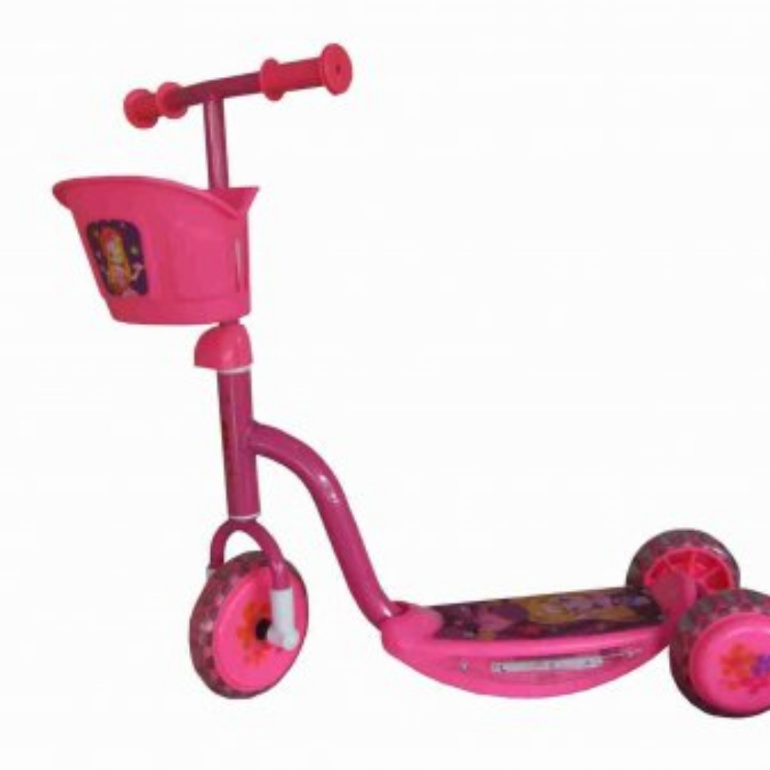 Skuter Anak Otoped SKUTER RODA 3 PINK Babies Kids Toys Walkers On Carousell