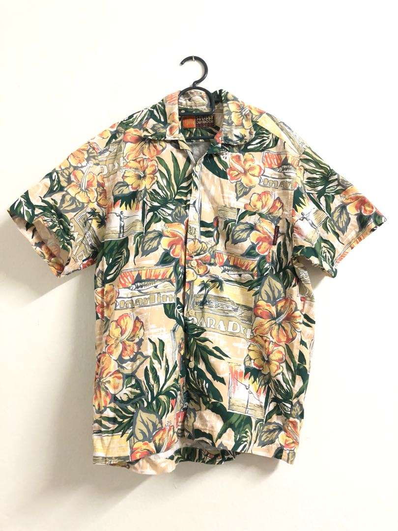 b79ec299c STUSSY Hawaii Shirt, Men's Fashion, Clothes on Carousell