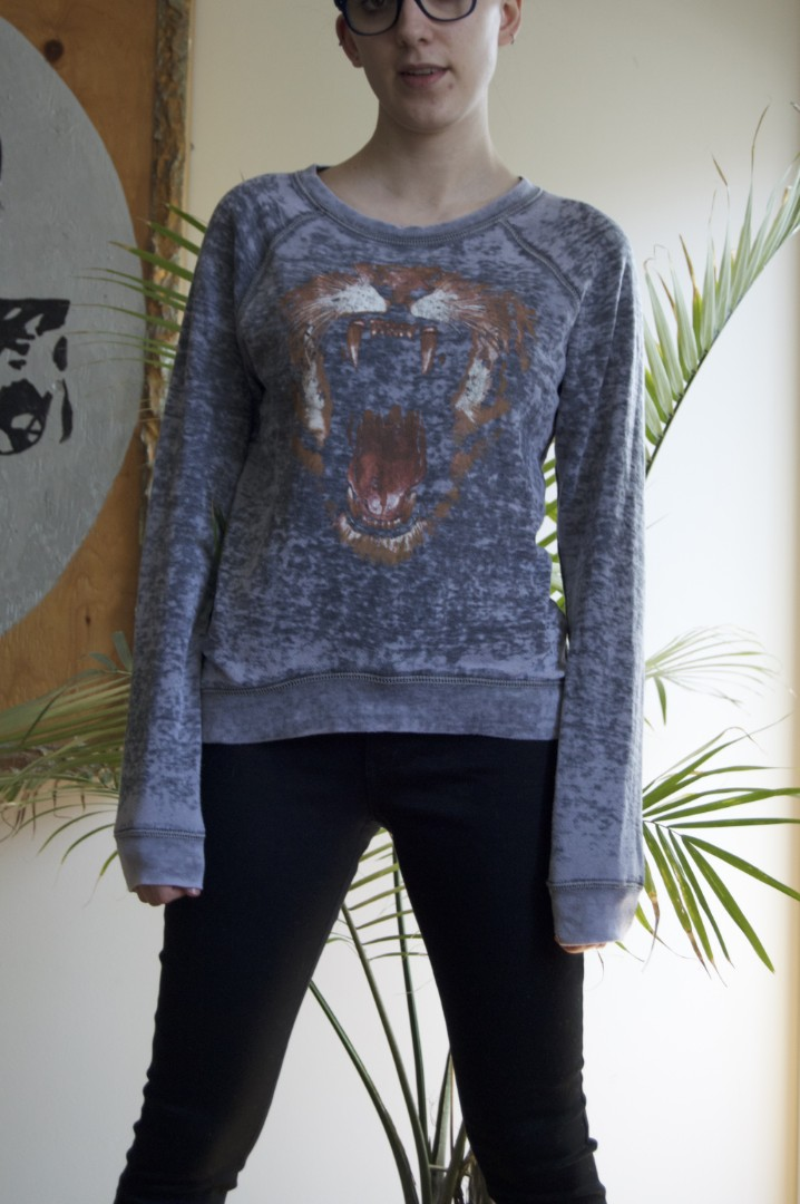 Tiger Graphic Sweater