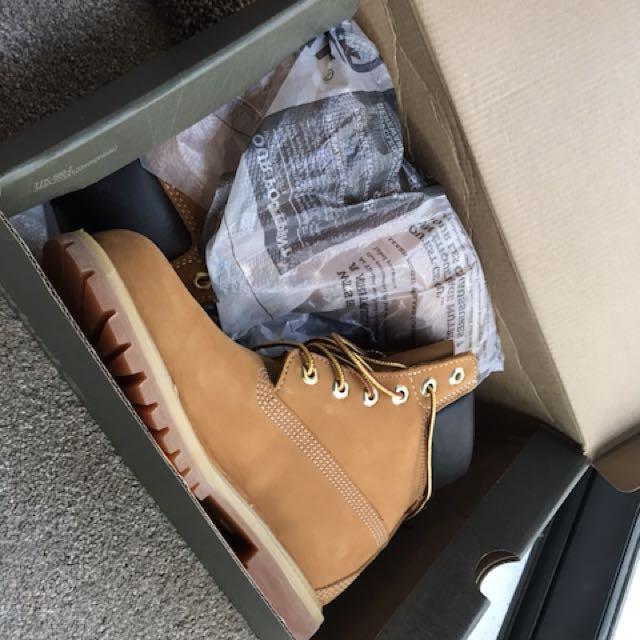 Timberland boots - women size 8