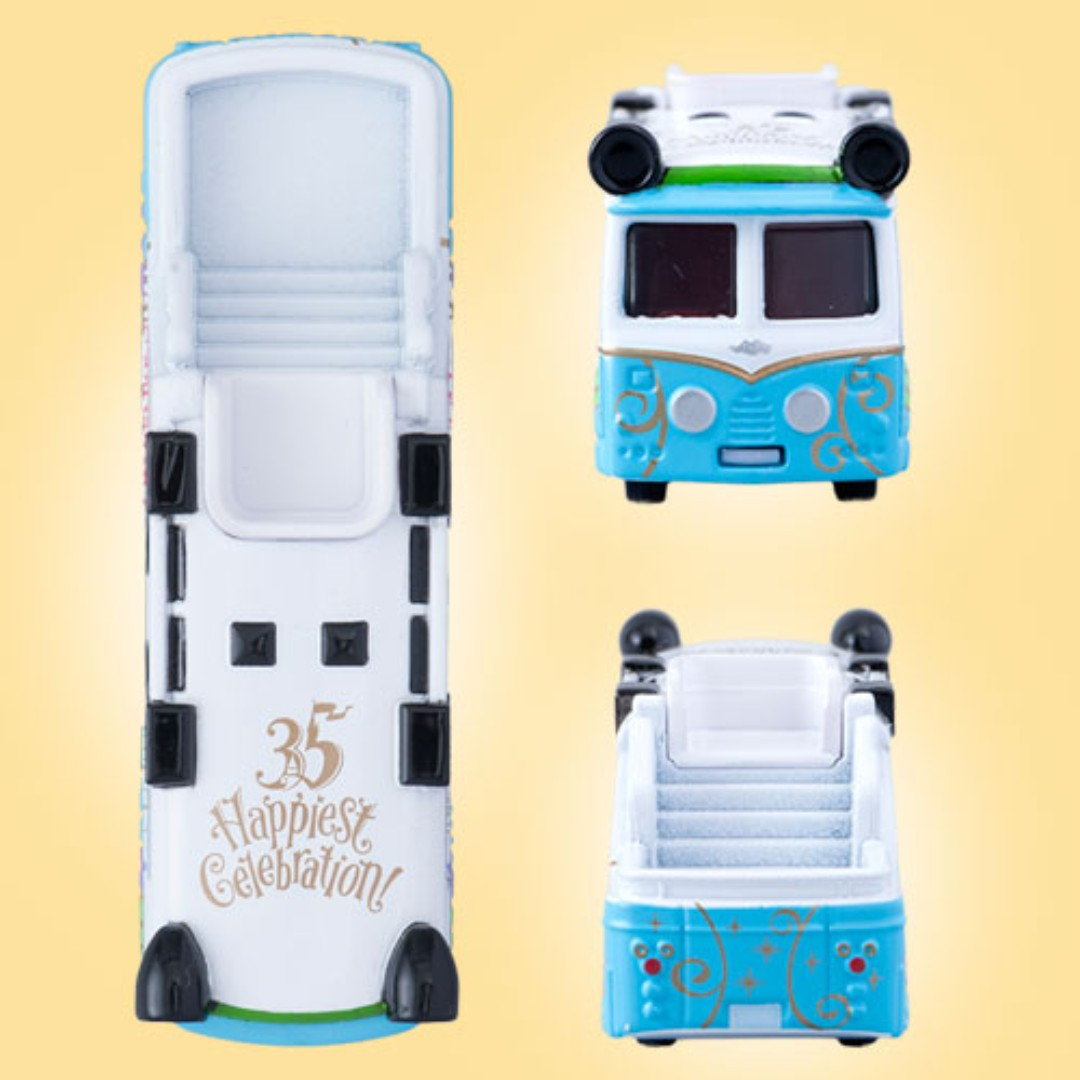 Tokyo Disneysea Disneyland Disney Resorts Sea Land Vehicle Tomica Series Dream Star 5th Anniversary Collection Cruiser Preorder Toys Games Others On Carousell