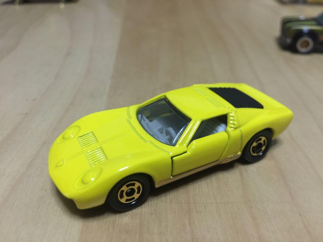 Tomica Lamborghini Miura Sv Loose Mic Toys Games Others On