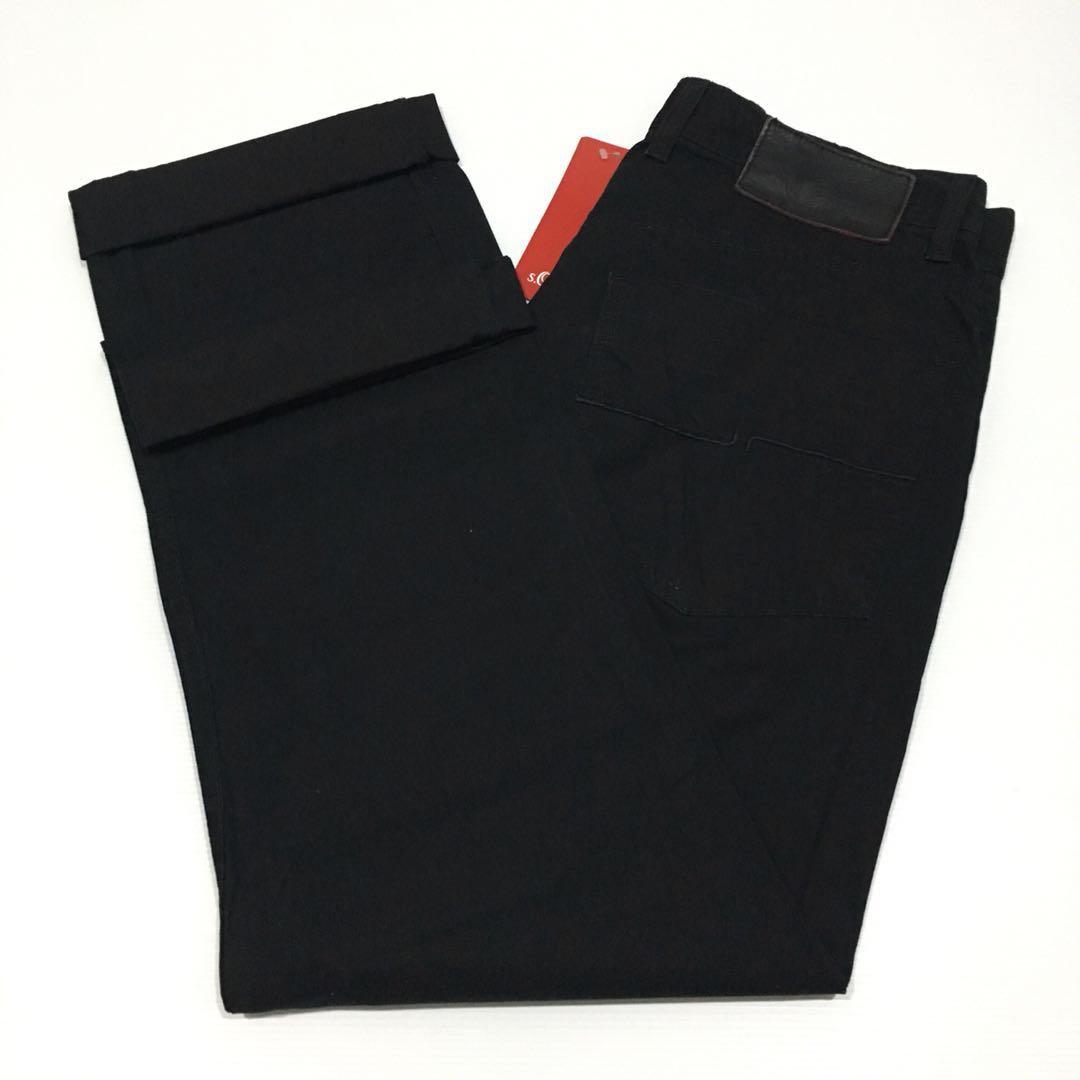 91a40e756 Tommy Hilfiger Mercer Slim Straight Soft Jeans in Black, Men's ...