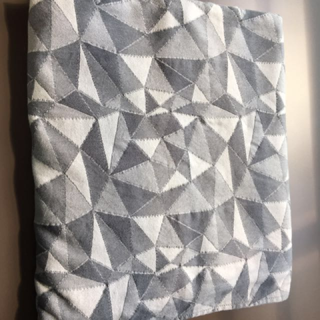 1cffcabc8ac Tula Baby Vertices Storm Woven Wrap (size 6)