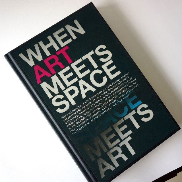 When Space Meets Art/When Art Meets Space: Spatial, Structural and Graphic Design for Event and Exhibition
